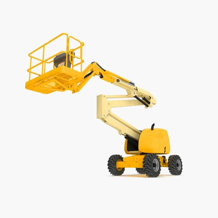 Telescopic Boom Lift used for rent 120ft | Lifting Equipment | HadeedApp