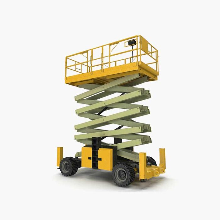 Electric-Scissor-lifts-used-for-rent34ft-40ft-Lifting-Equipment-hadeedApp