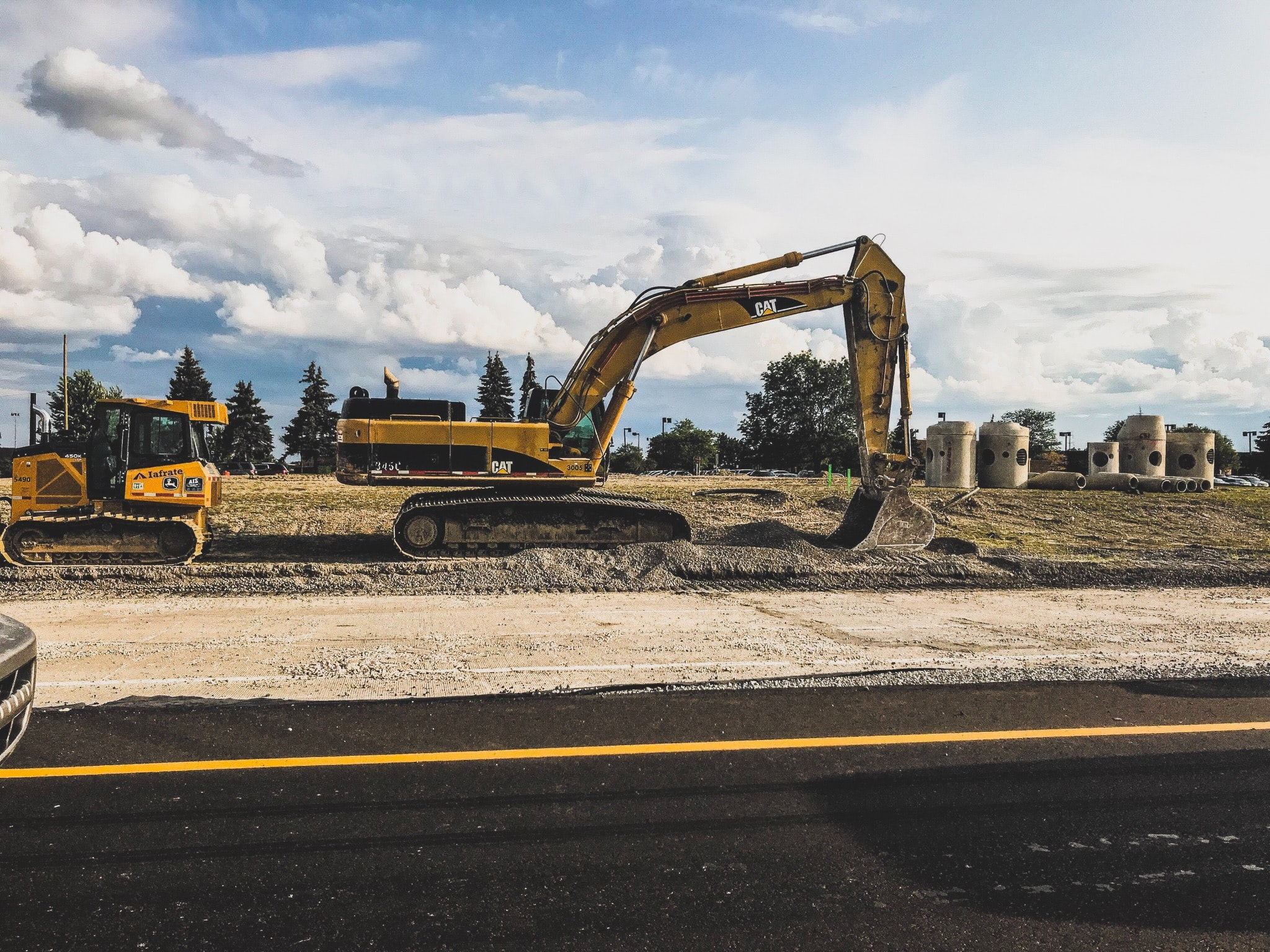 Heavy Equipment for construction